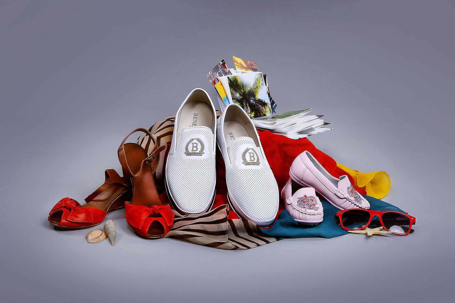 фотографии рекламы обуви абсолютный